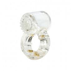 Эрекционное кольцо с вибрацией Climax® Gems™ Quartz Ring
