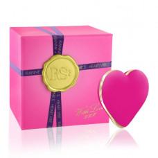 Вибратор-сердечко Rianne S: Heart Vibe Rose, 10  режимов работы, медицинский силикон
