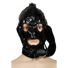 Шлем со съемным кляпом Пикантные Штучки