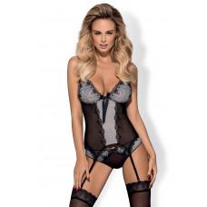 Комплект Obsessive Greyla corset