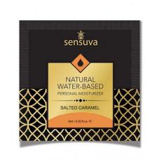 Пробник Sensuva - Natural Water-Based Salted Caramel (6 мл)