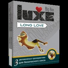 Презервативы Luxe №3  Big Box Long Love