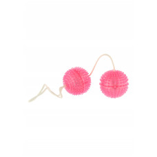 Вагинальные шарики с рельефными шипами