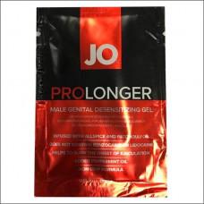 Пролонгер гель System JO Prolonger Gel (5 мл) с маслом перечной мяты, гвоздичного перца и пачули