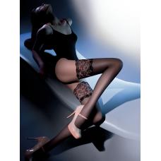 Чулки Gabriella Calze Elite 20 den с самоудеживающимся кружевом 14 см