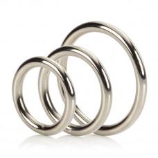 Набор колец Silver Ring - 3 Piece Set