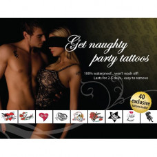 Tattoo Set - Get Naughty Party