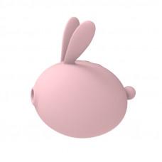 Вакуумный клиторальный стимулятор с вибрацией KissToy Miss KK Pink