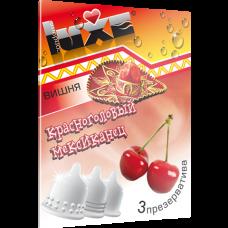 Презерватив Luxe Красноголовый Мексиканец с ароматом вишни