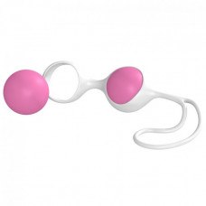 Вагинальные шарики Minx Discretion Love Balls White Pink OS
