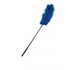 Перо страуса Sportsheets Ostrich Tickler Синее, для изысканных ласк