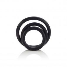 CalExotics Rubber Ring - 3 Piece Set - набор эрекционных колец