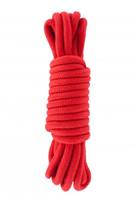 Hidden Desire Bondage Rope 5 meter - веревка для связывания, 5 м., красный