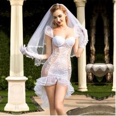 """Эротический костюм невесты """"Благочестивая Марта"""""""