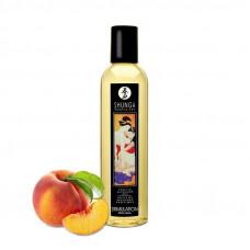 Массажное масло Shunga Stimulation - Peach (250 мл) натуральное увлажняющее
