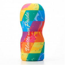 Tenga - Original Vacuum Cup Rainbow Unite with Pride - мастурбатор