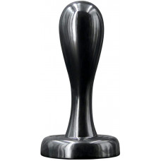 Renagade Bowler Plug MD - Прекрасная анальная пробка для ваших игр, 9.5х3.1 см, (черный)