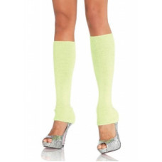 Leg Avenue Neon LEG3921NeonGr - Яркие гетры, OS, (салатовые)