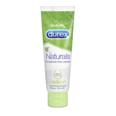 Durex Naturals - классическая смазка на водной основе, 100 мл