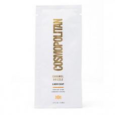 Cosmopolitan Caramel Drizzle Lubricant Foil - лубрикант с ароматом карамели, 10 мл