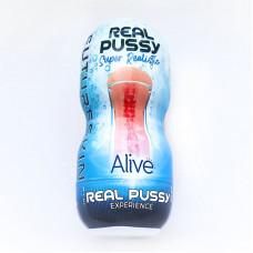 Недорого мастурбатор-вагина Alive Super Realistic Vagina