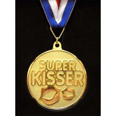 "Медаль металл ""Super KISSER"""